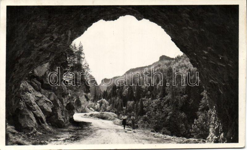 Lacul Rosu, tunnel, Gyilkos-tó, alagút