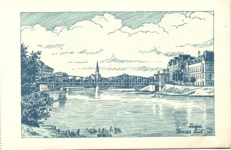 Lugos, bridge s: Lámoss, Lugos, Temes híd s: Lámoss