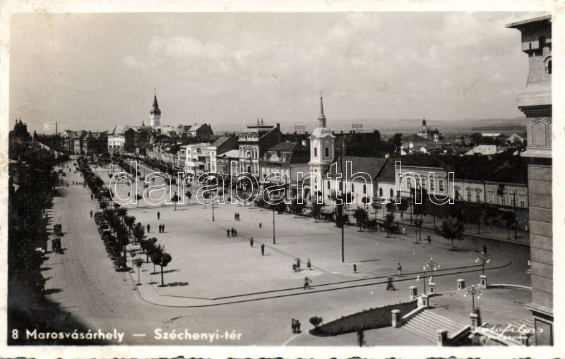 Targu Mures, square, Marosvásárhely, Széchenyi tér