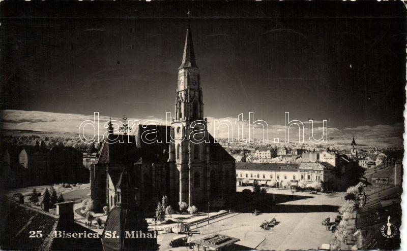 Cluj Napoca, Biserica Sf. Mihai / church, Kolozsvár, Szent Mihály bazilika