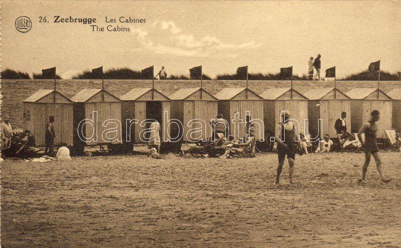 Zeebrugge beach, cabins, Zeebrugge strand, kabinok