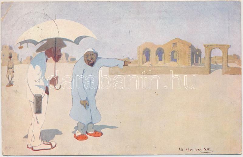 'All that was left' British Egyptian humour, folklore, B.K.W.I. 954-5., Angol egyiptomi humor, folklór, B.K.W.I. 954-5.