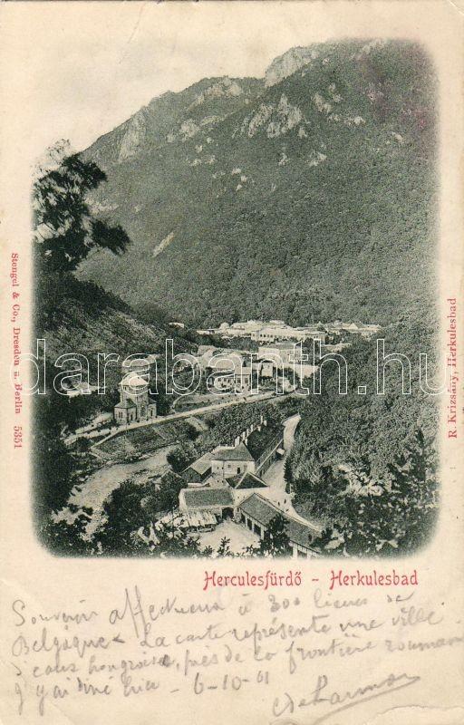Baile Herculane, Herkulesfürdő