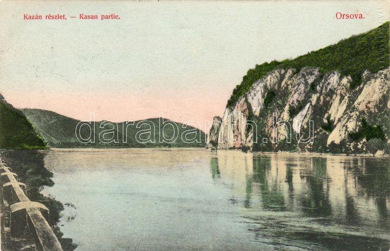 Orsova Kazan, Orsova Kazán-szoros, Divald
