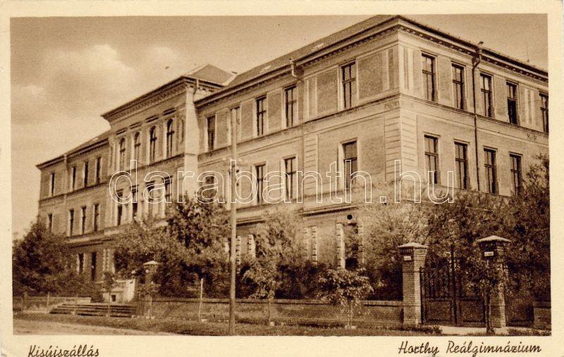 Kisújszállás grammar school, Kisújszállás Horthy Reálgimnázium