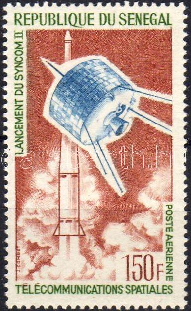 """Syncom satelite, Syncom műhold, Der Nachrichtensatellit """"Syncom II"""""""