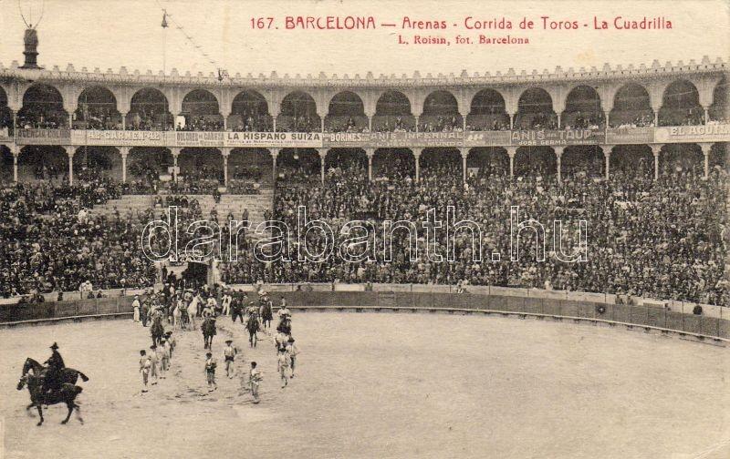 Barcelona, Arena, bullfight, team