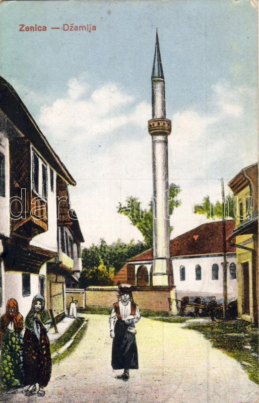 Zenica, mosque, Bosnien folklore