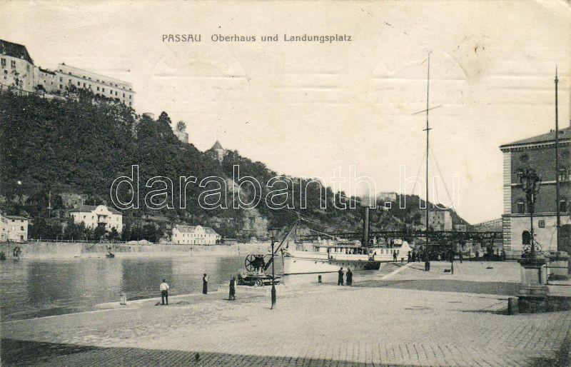 Passau, House of Lords, quay