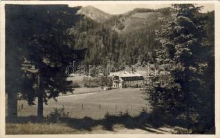 Grünau bei Mariazell, Hotel Marienwasserfall