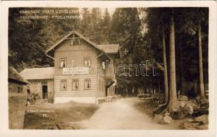 Spindleruv Mlyn, Spindlermühle; Krkonose, Chata u Dívci Lávky / mountain, guest house