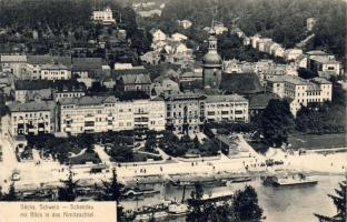 Bad Schandau, Kirnitzschtal, St. Johanniskirche, boats