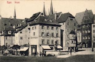 Eger, Cheb; Stöckl, Willibald Kofend Uhrenlager, Uhrmacher / watchmaker