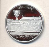 """Sweden 1996. """"EU Accession"""" commemorative medallion, Svédország 1996. """"Csatlakozás az Európai Unióhoz"""" emlékérem, Schweden 1996. """"Der Beitritt zur Europäischen Union"""" Gedenkmünze"""