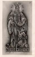St. Elisabeth, House of Árpád Saints Series s: Sándor Légrády, Szent Erzsébet, Árpádház szentjei sorozat s: Légrády Sándor