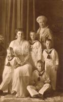 Duchess Cecilie of Mecklenburg-Schwerin, Augusta Victoria of Schleswig-Holstein, Prince Friedrich, Prince Wilhelm, Prince Louis Ferdinand, Prince Hubertus