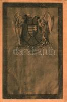 'Poor Hungary!' coat of arm, irredenta pinx. Szőcsné Szilágyi Piroska, 'Szegény Magyarország' címer, irredenta pinx. Szőcsné Szilágyi Piroska