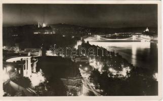 Budapest éjjel, Duna