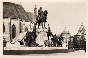 Kolozsvár, statue of Matthias Corvinus, Kolozsvár, Mátyás király szobra