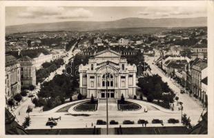Kolozsvár, National theatre, mountain, Kolozsvár, Nemzeti színház, feleki hegyek