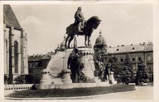 Kolozsvár, statue of Matthias Corvinus, Kolozsvár, Mátyás király szobor