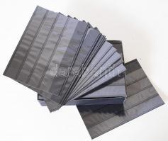 Kobra Stock cards with 4 strips VF4, Kobra berakólap 4 soros ár/db, KOBRA-Versand-Einsteckkarten mit 4 Streifen und Folienschutzblatt