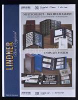 Lindner Uniplate Stock Sheets 091, undivided, 216x280mm, 5/pack, crystal clear, Lindner Uniplate gyűrűs berakóhoz osztatlan albumlap 091, 216x280mm, 5db/cs, Lindner Uniplate Blätter 091, 1 Streifen, 216x280mm, 5 St., glasklar
