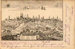 1898 Rothenburg ob der Tauber