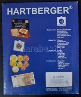 Hartberger érmetok 8211, LK 12 Super, 12 férőhelyes 50x50mm, 10db/cs. Hartberger Münzenblatter 8211 mit 12 Feldern-Super, 50x50mm, 5 St. Hartberger Coin Holder 8211, Super with 12 pockets, 50x50mm, 10/pack