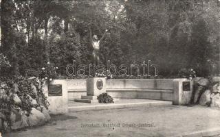 Darmstadt, Gottfried Schwab statue