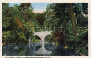 Philadelphia, Fairmount park, Rex Avenue bridge