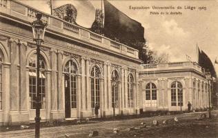Liege, Exposition Universelle et Internationale de Liège, Palais de la dentelle / World's fair, palace 1905