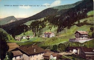 Gries am Brenner, Hotel and Spa Grieser Hof