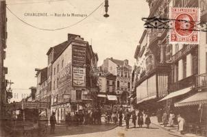 Charleroi, Rue de la Montagne / street, cinema, women clothing, fur, furniture and garden shop