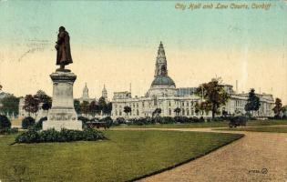 Cardiff, city hall, Low Courts