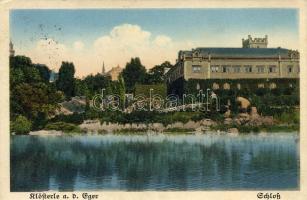 Klásterec nad Ohrí, Klösterle an der Eger; castle