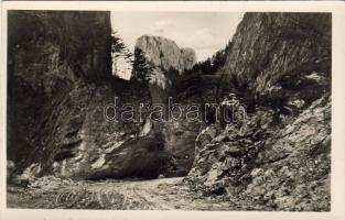 Bicaz Canyon, Békás szoros