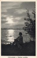 Balaton 'Ábrándozás a Balaton partján' nő