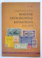 Adamovszky István: Magyar szükségpénz katalógus 1723-1959