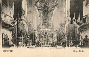 Andechs, Klosterkirche / monastery, interior