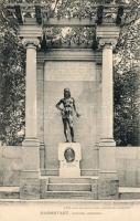 Darmstadt, Goethe Denkmal / statue