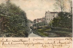 Greifswald, Stadtgraben