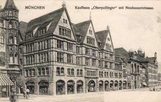 München, Kaufhaus 'Oberpollinger' Neuhauserstrasse / store, street