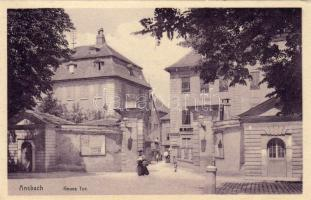 Ansbach, Neues Alexander Tor / gate