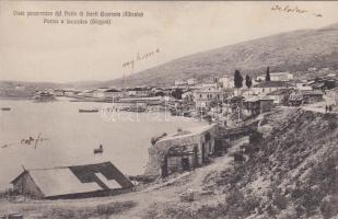 Sarandë kikötő Sarandë port