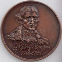 """1987. """"""""Association of the Hungarian Medal Collectors - XVIIth  Itinerary Congress in Nyíregyháza / György Bessenyei"""" commemorative medallion sign.:Kristóf Kelemen (1922-2001) / Sándor Sebestyén (1949-2010), Kelemen Kristóf (1922-2001) / Sebestyén Sándor (1949-2010) 1987. """"MÉE XVII. Vándorgyűlése - Nyíregyháza / Bessenyei György"""" emlékérem, 1987. """"Verein der Ungarischen Münzensammler - XVII. Wanderversammlung in Nyíregyháza / György Bessenyei"""" Gedenkmünze sign.: Kristóf Kelemen (1922-2001) / Sándor Sebestyén (1949-2010)"""