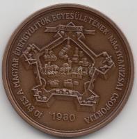 """1980. """"10th Anniversary of the Group of Nagykanizsa - Association of the Hungarian Medal Collectors / György Thúry"""" commemorative medallion sign.:Zoltán Képíró (1944-1981), Képíró Zoltán (1944-1981) 1980. """"10 éves a MÉE Nagykanizsai Csoport / Thury György"""" emlékérem, 1980. """"10. Jubiläum der Gruppe von Nagykanizsa - Verein der Ungarischen Münzensammler / György Thúry"""" Gedenkmünze sign.: Zoltán Képíró (1944-1981)"""
