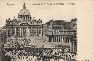 Vatican City, Basilica di San Pietro in Vaticano / St. Peter's Basilica