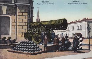 Moszkva Kreml, ágyú Moscow Kremlin, cannon