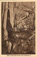 Dubrovnik, Ragusa; Spilja Grotte Karle Kordic Gruz / stalactite cave